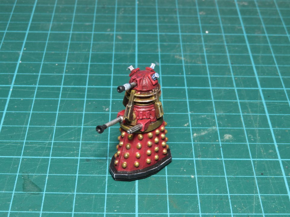 Supreme Dalek Red